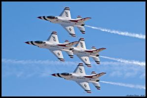 Nellis Thunderbirds 10 by AirshowDave