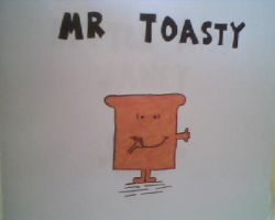 Mr Toasty by michaelritchie200