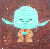 Yoda by xanderthurteen