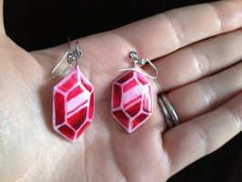 Rupee Earrings by Gatobob