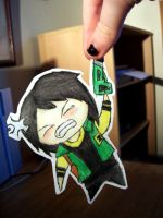 Fun Ghoul Paper Child by MusicMayhem399