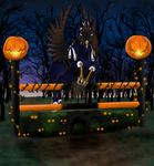 Swooping In for Masquerade Showjumping by Drasayer