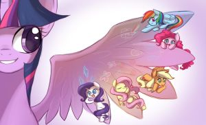 MLP: wings by keterok