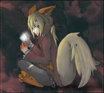 Gijinka Arcanine -collab- by ashesxmonster