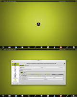 Arch KDE be::shell/bespin Quickshot by CraazyT