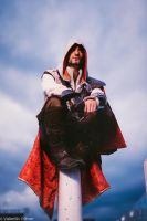 Ezio Auditore Cosplay London - Assassin's Creed by LeonChiroCosplayArt