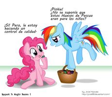 PinkieDash Easter Egg's Delivery by JcosNeverExisted