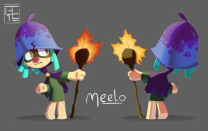 The Bramble - Meelo Front and Back by GCrosbie