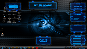 XR-5 For Rainmeter by 9LWANE