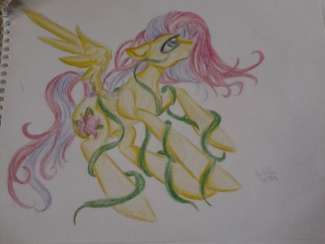 A tropical flower of vines by StarShineTheAlicorn