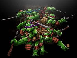 TMNT by bigMdesign