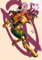 Rogue colored by raradat
