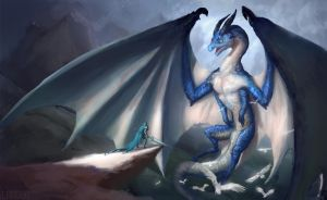 blue fatalis by lag-dog