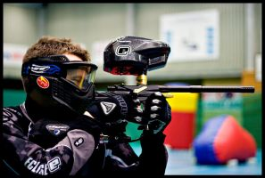 Indoor Paintball by dvartdal