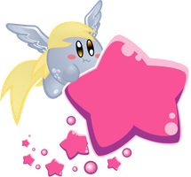 Derpy Kirby by jrk08004