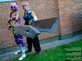wich is the bigger?:D by CassyCosplay