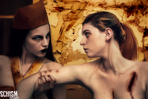 Cast your demons out by Schism-Photography