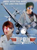 Top Gun - Project Check-6 Poster by BlueWolfRanger95