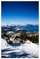 Lake Tahoe by Zilchius