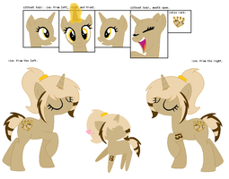 Never West Reference Sheet by CharIie