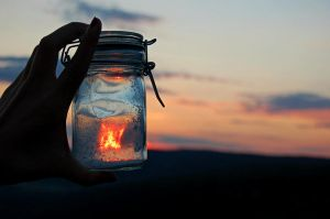 my own little flame. by michelletrue