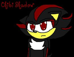 chibi Shadow by sonicandshadowfan