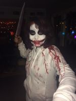 Jeff The Killer Costume pic Two by HarrySaxon1234