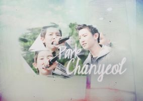 Chanyeol Wallpaper by kamjong-kai