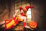 Halloween Lina 2 - Dota 2 cosplay by LuckyStrike-cosplay