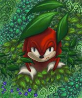 Knuckles Creepin by Mystical-Kaba