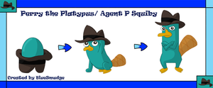 Perry, Agent P Squiby by BlueSmudge