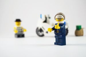 Lego thumbs up by JLP3D