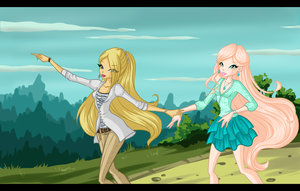 Collab: Zlata and Casey by NGavalanche