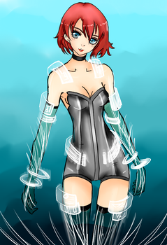 Contest Entry : Cora's Wetsuit by AerinBoy