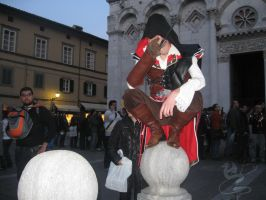 Lucca Comics 09-Ezio in Black by NocturnaDraco