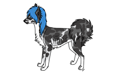 Dog Adopt #1 OPEN by Wolf-Therian-Sadies