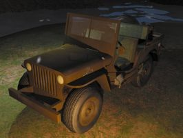 1944 jeep willy 1 by Ziddius