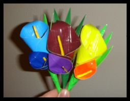 Duct tape Boutonnieres by DuckTapeBandit