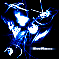 Blue Plasma Brushes by JustinSynth