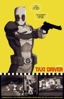 deadpool x taxi driver by m7781