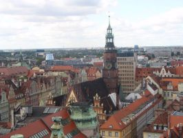 Wroclaw city hall by Woolfred