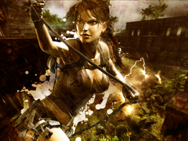 Tomb Raider Wallpaper by FighterOfFoos