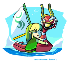I love wind waker by upstreamwake