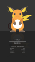 Raichu by WEAPONIX