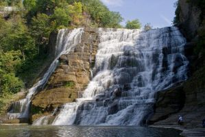 Ithaca Falls by xDx