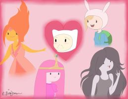 Adventure Time Love by Areece-the-soul