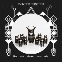 King of Night Spirits / WINTER CONTEST by RamalamaCreatures