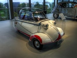 Autostadt 1959 HDR by Risen-From-The-Ruins