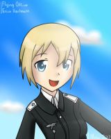 Flying Officer Erica Hartmann by BookmarkAHead