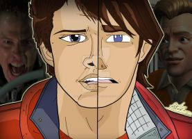 Back To The Future Duality - Marty McFly by OptimumBuster